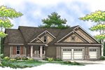 Craftsman Inspired Ranch House