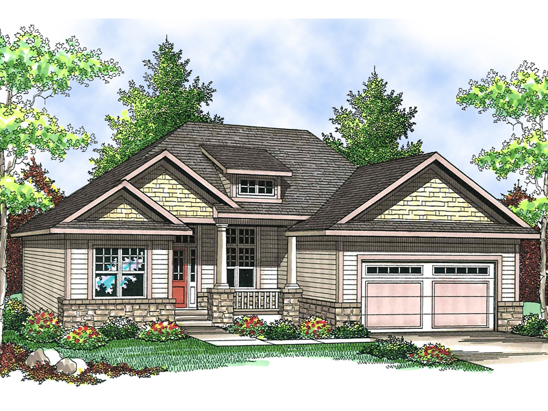 Craftsman Details Give This Home Plenty Of Curb Appeal