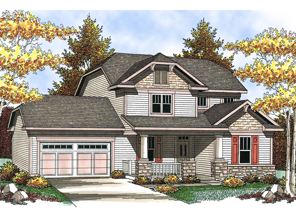 Belgrove Arts And Crafts Home Plan 051d 0557 House Plans