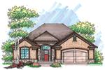 Ranch Home With Symmetrically Pleasing Facade