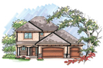 Traditional House Plan Front of Home - 051D-0618 | House Plans and More
