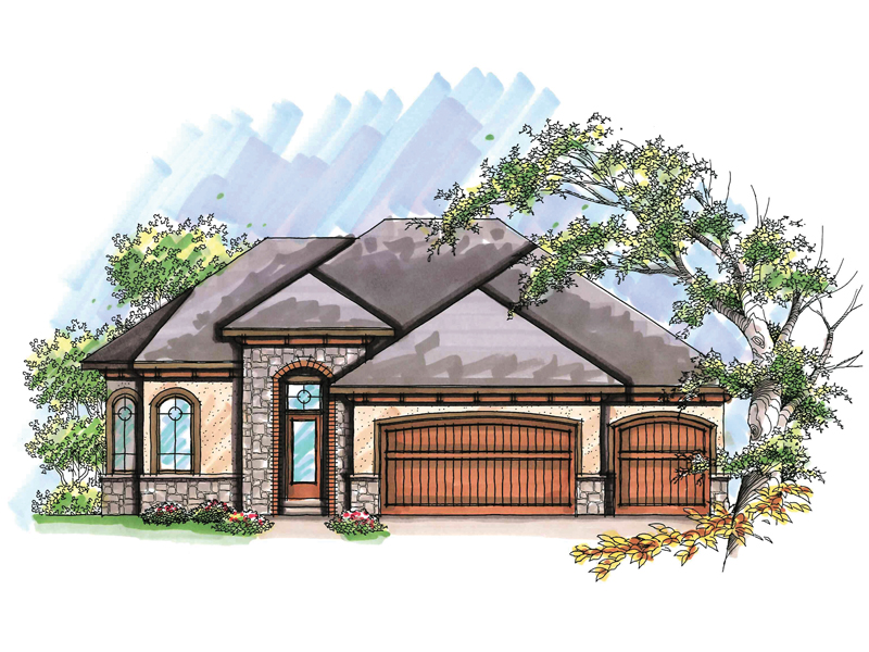 Traditional House Plan Front of Home - 051D-0634 | House Plans and More
