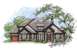 Traditional House Plan Front of Home - 051D-0635 | House Plans and More