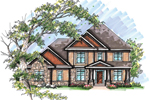 Traditional House Plan Front of Home - 051D-0642 | House Plans and More