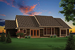 Traditional House Plan Rear Photo 01 - 051D-0657 | House Plans and More