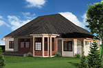 Craftsman House Plan Rear Photo 01 - 051D-0658 | House Plans and More