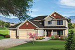 Craftsman House Plan Front of Home - 051D-0659 | House Plans and More