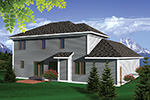 Craftsman House Plan Rear Photo 01 - 051D-0661 | House Plans and More