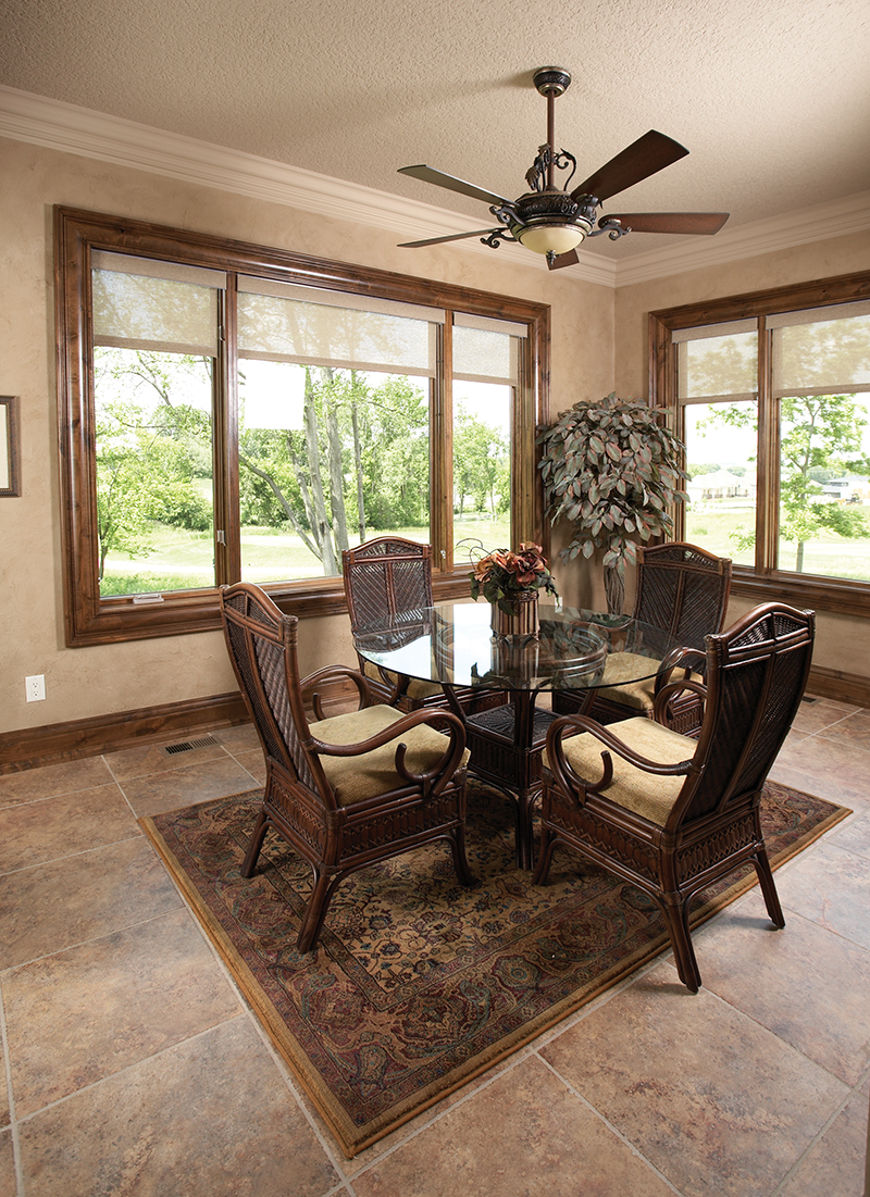 Rustic Home Plan Dining Room Photo 01 051D-0669