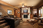 Rustic Home Plan Family Room Photo 01 - 051D-0669 | House Plans and More