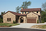 Rustic Home Plan Front of Home - 051D-0669 | House Plans and More