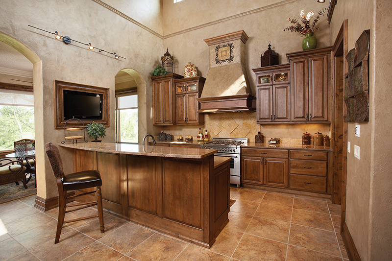 Rustic Home Plan Kitchen Photo 01 051D-0669