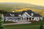 Craftsman House Plan Front Image - 051D-0670 | House Plans and More