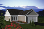 Craftsman House Plan Color Image of House - 051D-0672 | House Plans and More