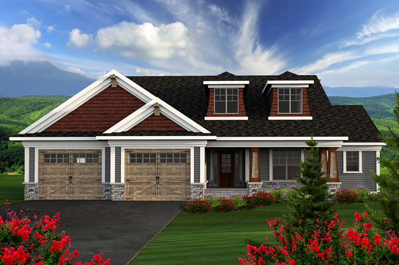 Jaspen Rustic Craftsman Home Plan 051D 0716 House Plans