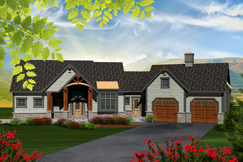 Clariette luxury ranch home plan 051d 0725 house plans for Houseplans and more