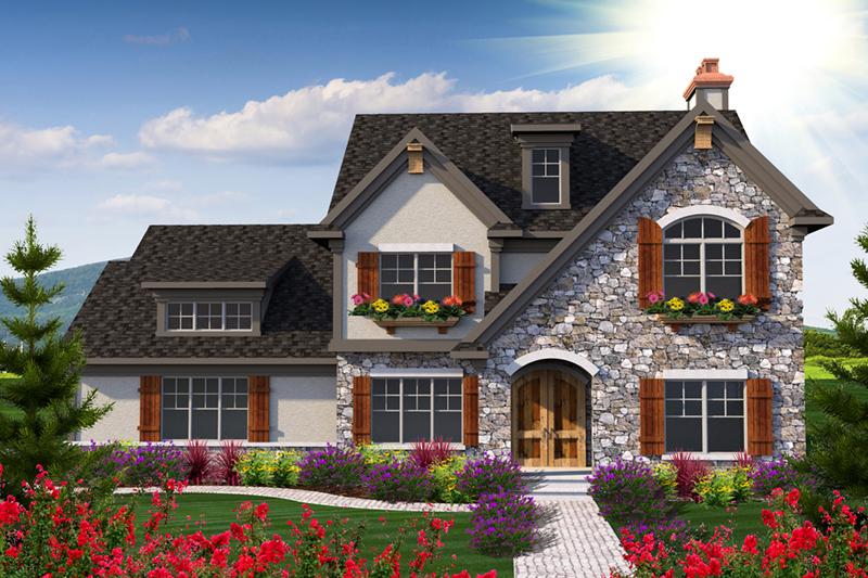 Airdrie Farm European Home Plan 051D-0733 | House Plans and More. House Plans and More - european house plans
