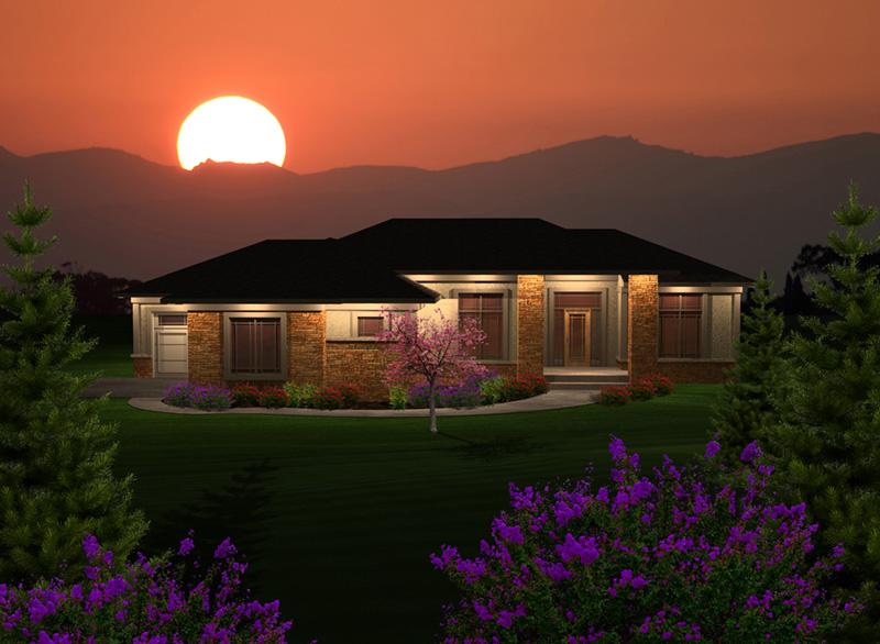 Chardonelle Prairie Style Home Plan 051D0746 – Prairie Style Garage Plans