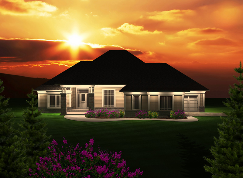 Traditional House Plan Front of Home - 051D-0748 | House Plans and More