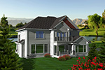 Country House Plan Rear Photo 01 - 051D-0751 | House Plans and More