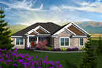 Craftsman House Plan Front of Home - 051D-0762 | House Plans and More