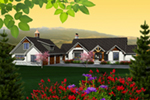 Arts & Crafts House Plan Front of Home - 051D-0763 | House Plans and More