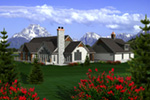 Arts & Crafts House Plan Rear Photo 01 - 051D-0763 | House Plans and More