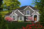 Luxury House Plan Front of Home - 051D-0769 | House Plans and More