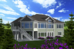Craftsman House Plan Rear Photo 01 - 051D-0775 | House Plans and More