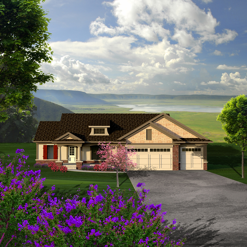 Devin European Ranch Home Plan 051D 0778 House Plans and