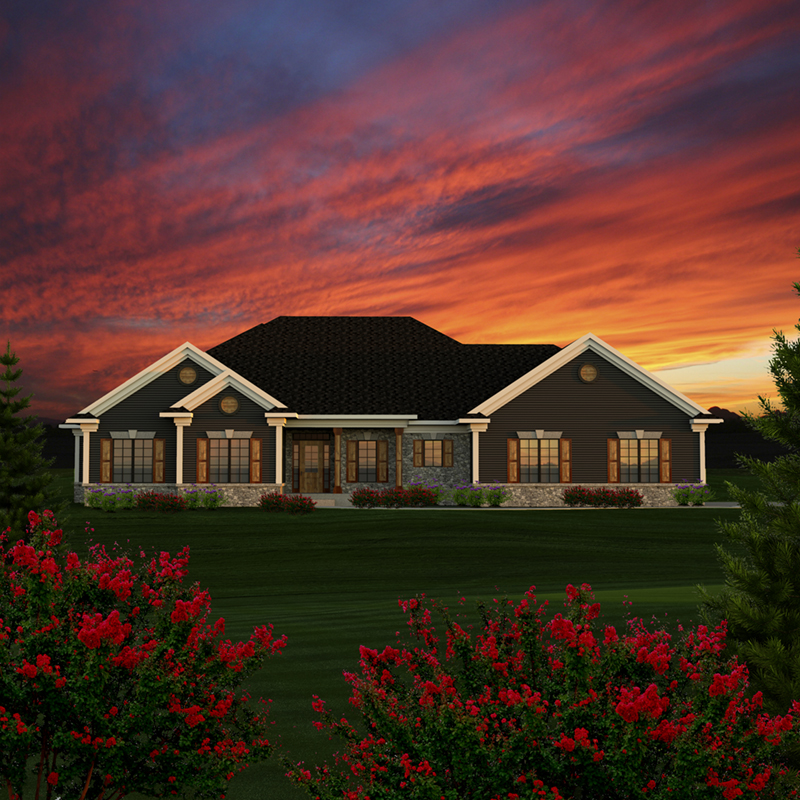 Redell Rustic Ranch Home Plan 051d 0783 House Plans And More