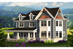 Victorian House Plan Front of Home - 051D-0813 | House Plans and More