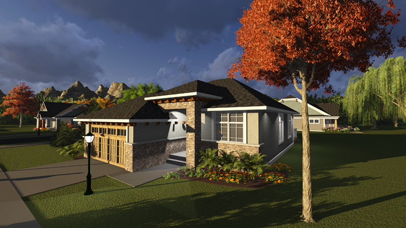 Elisa Craftsman Ranch Home Plan 051d 0826 House Plans And More