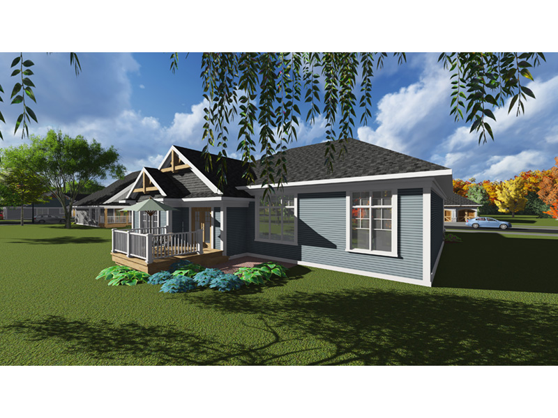 Percy Arts Crafts Ranch Home Plan 051d 0835 House Plans And More