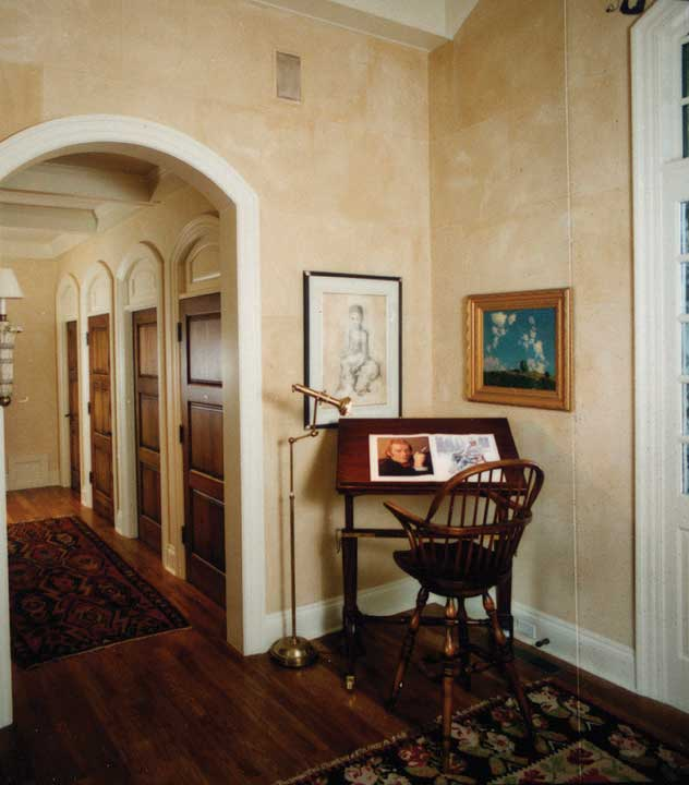European House Plan Foyer Photo 051S-0001