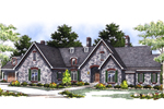 Country French Home Plan Front Image - 051S-0001 | House Plans and More