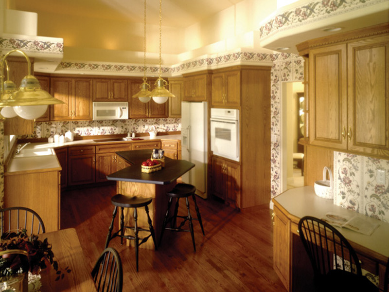 European House Plan Kitchen Photo 02 - 051S-0010 | House Plans and More