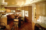 Georgian House Plan Kitchen Photo 02 - 051S-0010 | House Plans and More