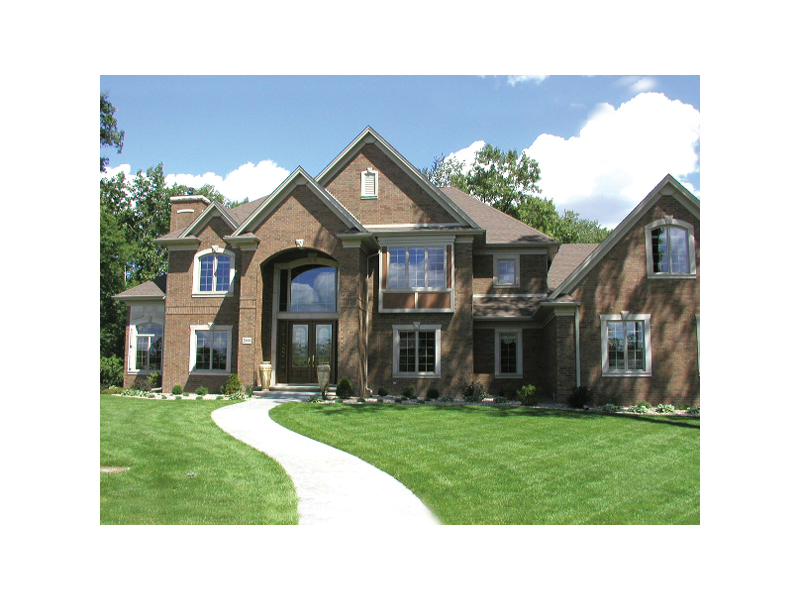 European House Plan Front of Home 051S-0011