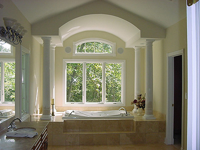 European House Plan Master Bathroom Photo 01 - 051S-0011 | House Plans and More