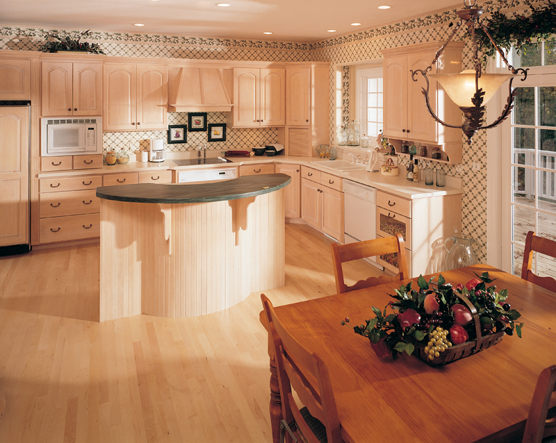 Country French Home Plan Kitchen Photo 01 051S-0014