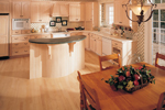 European House Plan Kitchen Photo 01 - 051S-0014 | House Plans and More