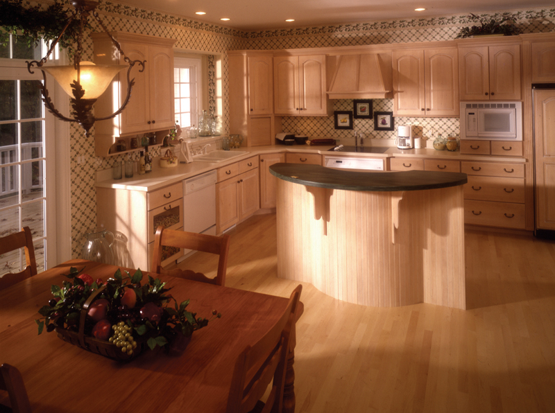 Country French Home Plan Kitchen Photo 02 - 051S-0014 | House Plans and More