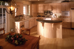European House Plan Kitchen Photo 02 - 051S-0014 | House Plans and More