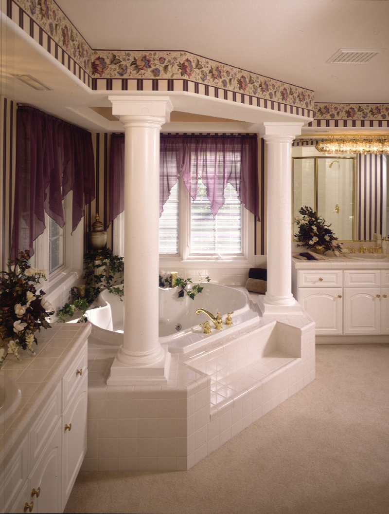 Neoclassical Home Plan Bathroom Photo 01 - 051S-0015 | House Plans and More