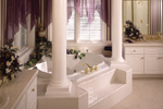 European House Plan Bathroom Photo 01 - 051S-0015 | House Plans and More