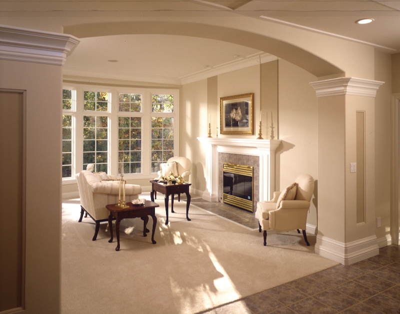 Neoclassical Home Plan Great Room Photo 01 051S-0015