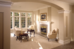 European House Plan Great Room Photo 01 - 051S-0015 | House Plans and More
