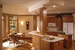 European House Plan Kitchen Photo 02 - 051S-0015 | House Plans and More