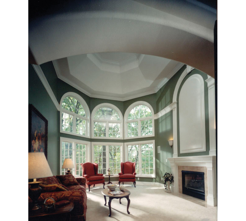 Southern House Plan Living Room Photo 01 051S-0018